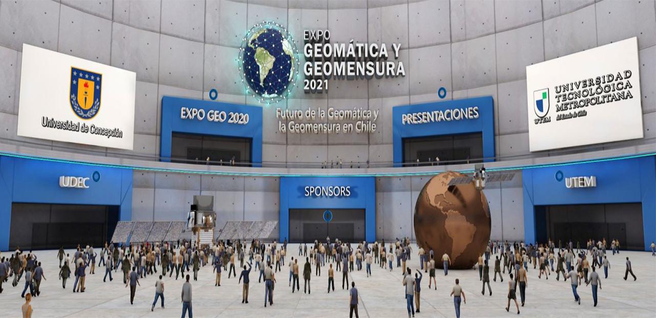 UTEM y UDC organizaron Expo Geomática y Geomensura 2021