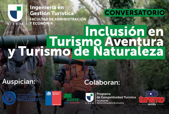 Conversatorio: Inclusión en Turismo Aventura y Turismo de Naturaleza