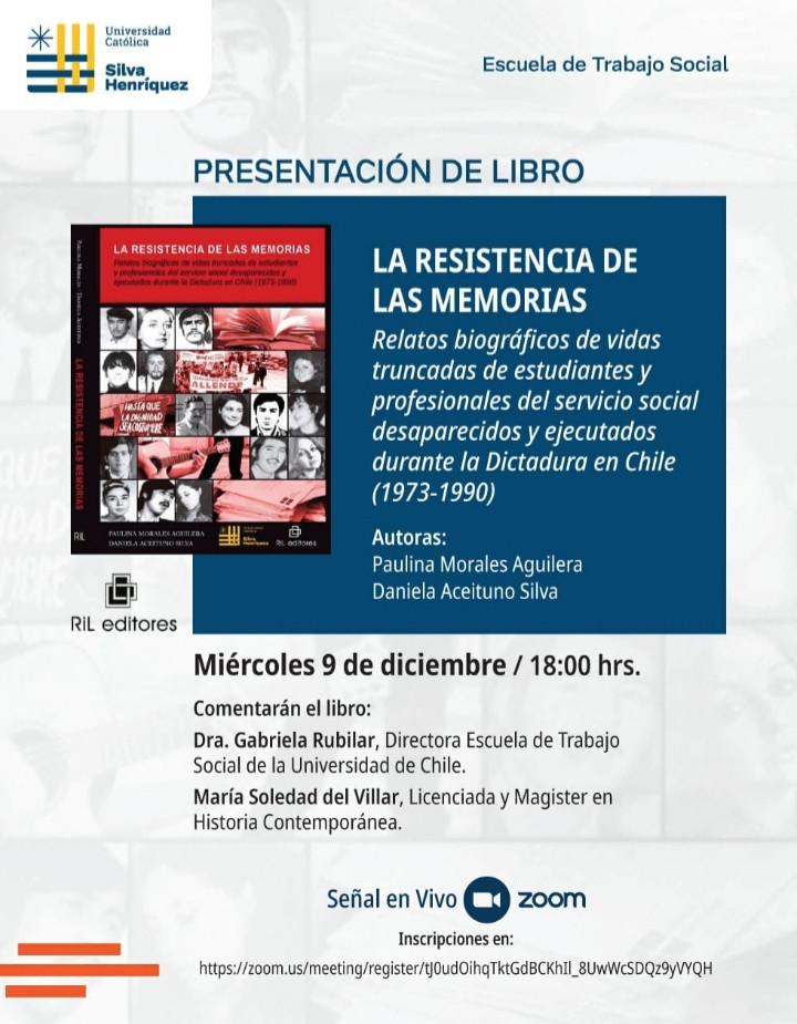 Tituladas de Trabajo Social UTEM publican libro.