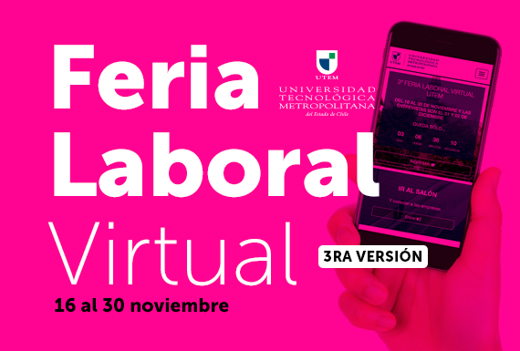 Feria Laboral Virtual UTEM: 3ra versión